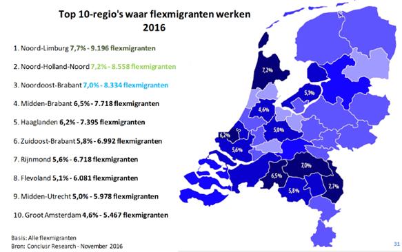 Flexmigranten-in-Nederland-top-10-regios-bron-ABU-en-NBBU-2016