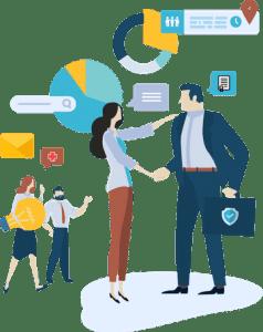 Samenwerking met vakspecialisten en business partners